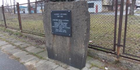 Tablica pamiątkowa Kazimierza Szpotańskiego