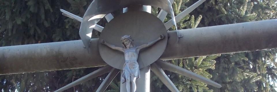Krzyż pamięci poległych mieszkańców osiedla Las