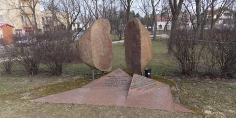 Pomnik upamiętniający Żydów z Falenicy