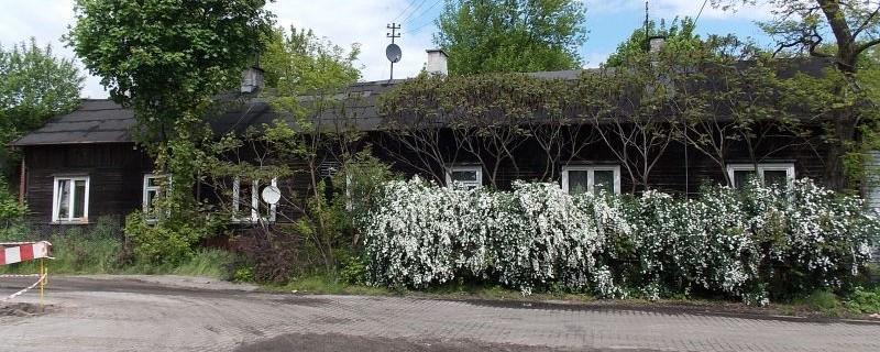 Dom drewniany przy Błękitnej 1