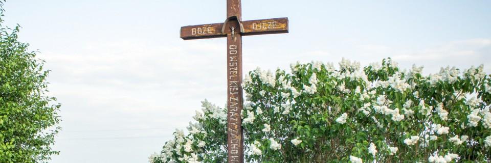 Krzyż przydrożny przy Borowieckiej
